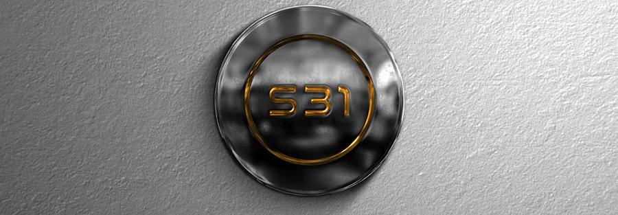 Metallic Logo Intro Video Template Studious31