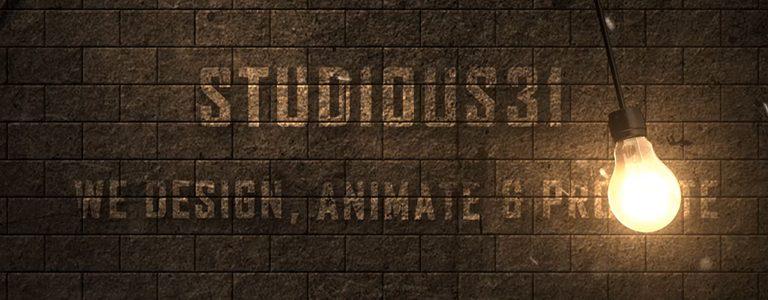 Dark-Light-Bulb-Logo-Intro-Templater-Studious31-Cover