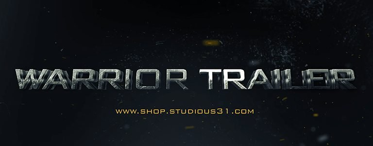 Warrior-Action-Cinematic-3DTitle-AETemplate-TrailerCoverBlog-Studious31